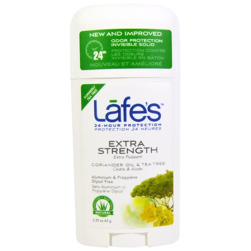 Lafe's Natural Body Care Twist-Stick Deodorant Coriandro y árbol de té - 2.5 oz - 28763_1.jpg