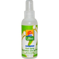 Lafe's Natural Body Care Foot Spray with Peppermint Oil