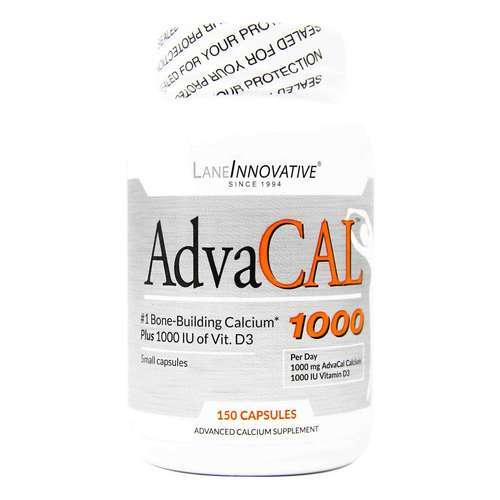 Lane Innovative AdvaCAL 1000 - 150 Capsules - 15667_front2020.jpg
