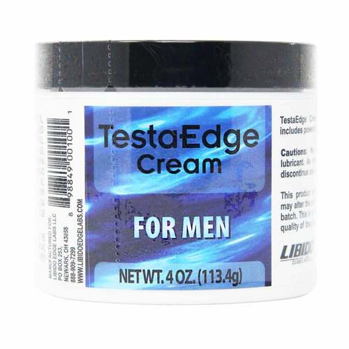 Libido Edge TestaEdge Cream for Men - 4 oz - 13096_front2020.jpg