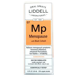 Liddell Homeopathic Menopause Spray