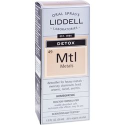 Liddell Laboratories Detox Metals