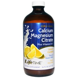 LifeTime Original Calcium Magnesium Citrate