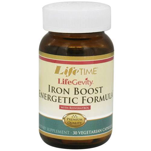 LifeGevity Iron Boost Energetic Formula