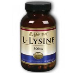 LifeTime L-Lysine 500 mg