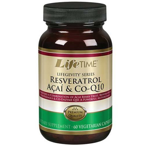 Lifegevity Series Resveratrol Acai and Co-Q10