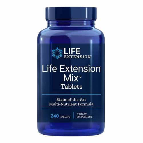 Life Extension Mix- State-Of-The-Art Multi-Nutrient Formula - 240 Tablets - 15711_front2019.jpg