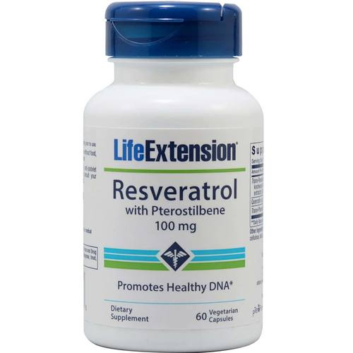 Resveratrol with Pterostilbene - 100 mg