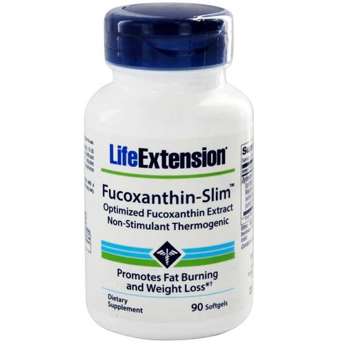 Life Extension Fucoxanthin-Slim  - 90 Softgels