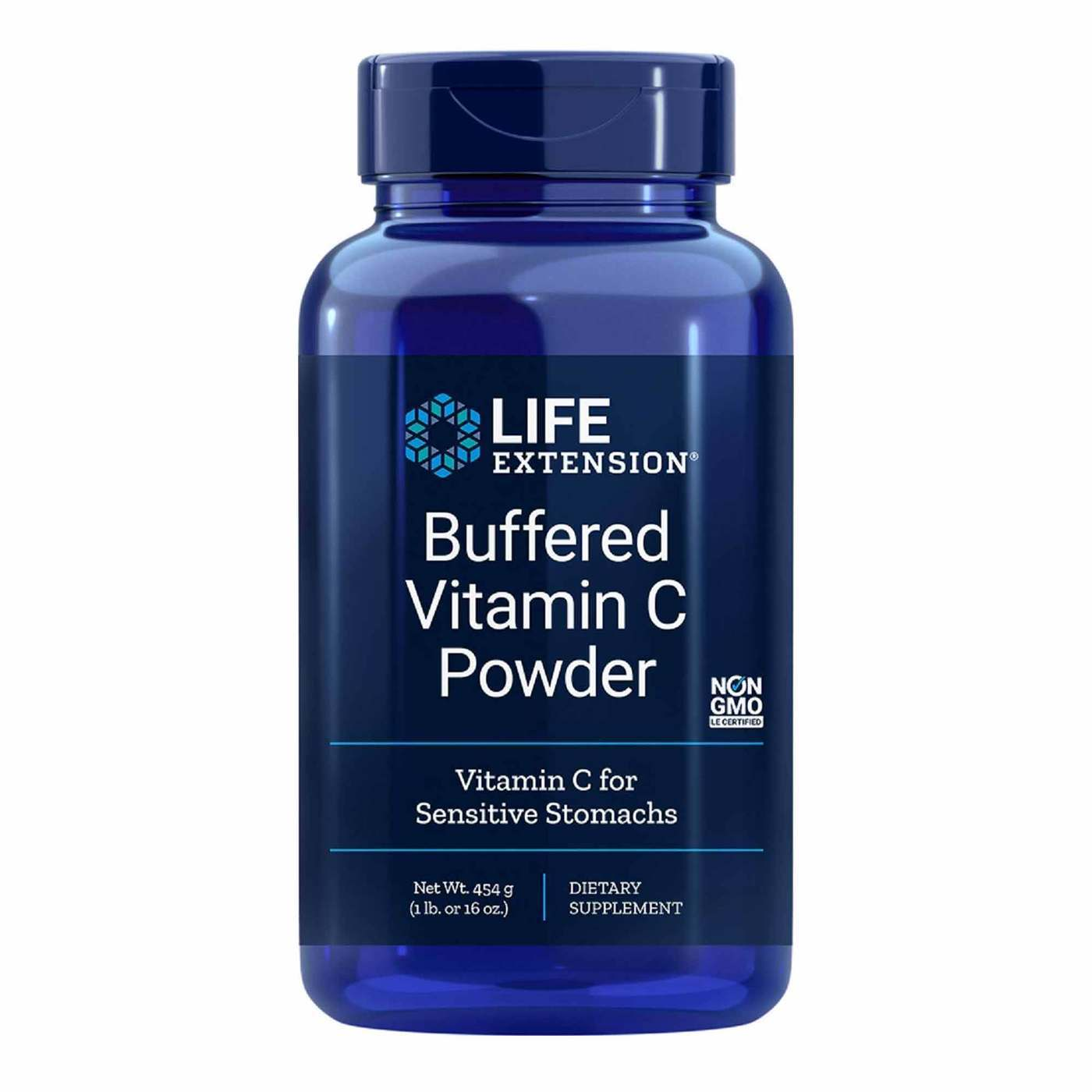 Life Extension Buffered Vitamin C Powder - 16 oz (454 g ...