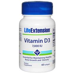 Life Extension Vitamin D3 7000 IU