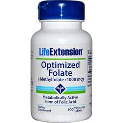 Life Extension Optimized Folate (L-Methylfolate)