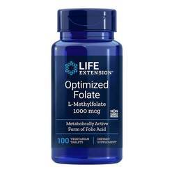 Life Extension Optimized Folate L-Methylfolate 1000 mcg