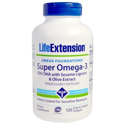 Life Extension Super Omega-3 EPA/DHA with Sesame Lignans