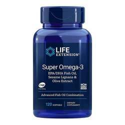 Life Extension Super Omega-3 EPA DHA with Sesame Lignans