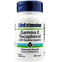 Life Extension Gamma E Mixed Tocopherols