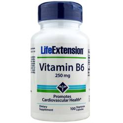Life Extension Vitamin B6 250 mg