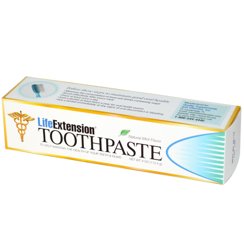 Life Extension Toothpaste