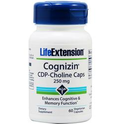 Life Extension Cognizin CDP-Choline Caps 250 mg