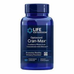 Life Extension Optimized Cran-Max Cranberry Whole Fruit Concentrate with Ellirose