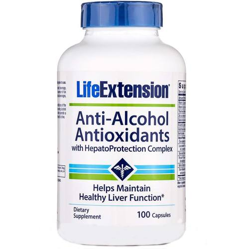 Anti-Alcohol Antioxidants with HepatoProtection Complex