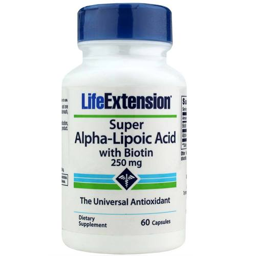 Super Alpha Lipoic Acid with Biotin