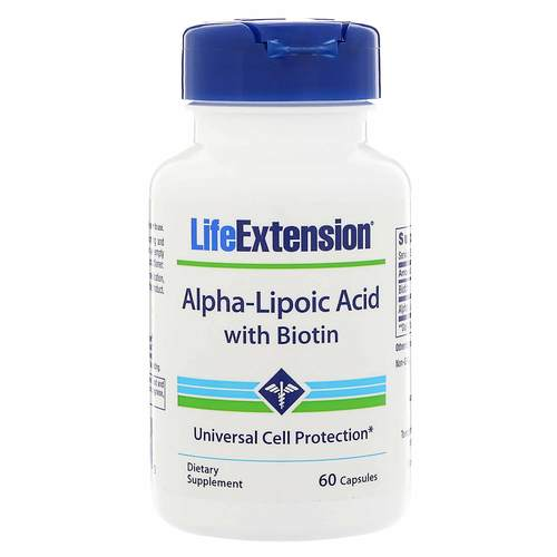 Alpha Lipoic Acid with Biotin