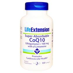 Life Extension Super Absorbable CoQ10 with d-Limonene