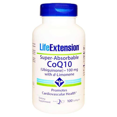 Super Absorbable CoQ10 with d-Limonene 100 mg
