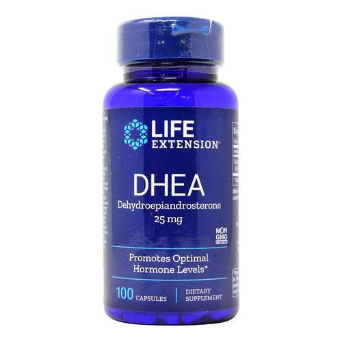 Life Extension DHEA - 25 mg - 100 Capsules - 35128_front2020new.jpg