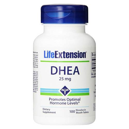 Life Extension DHEA - 25 мг - 100 таблеток - 35130_front.jpg
