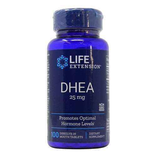 Life Extension DHEA - 25 mg - 100 Tablets - 35130_front2020new.jpg
