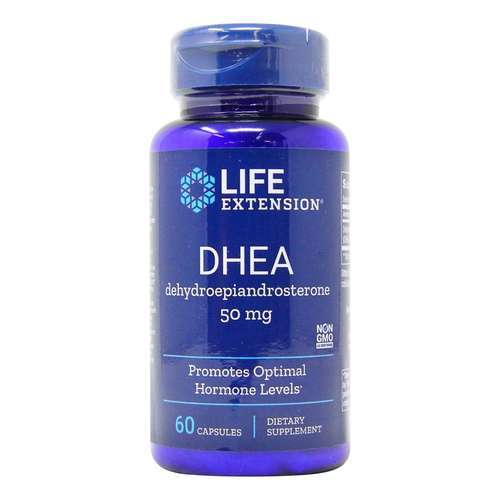 Life Extension DHEA 50 mgのの60キャップ - 35131_front2020.jpg