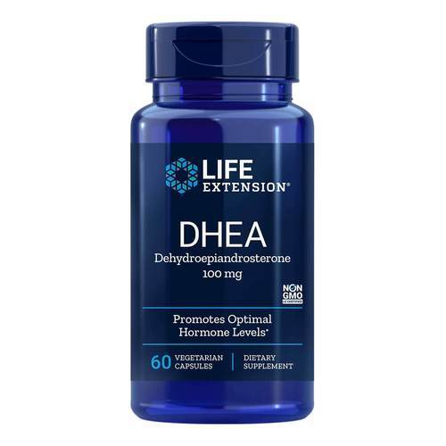 Life Extension DHEA 100 mg 60 Caps - 35132_front2020.jpg
