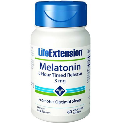 Melatonin 6 Hour Timed Release 3 mg