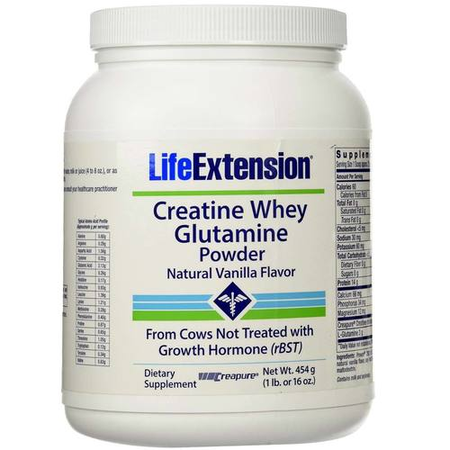 Creatine Whey Glutamine Powder