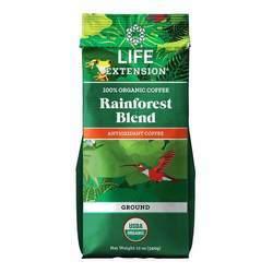 Life Extension Organic Rainforest Blend Ground Coffee