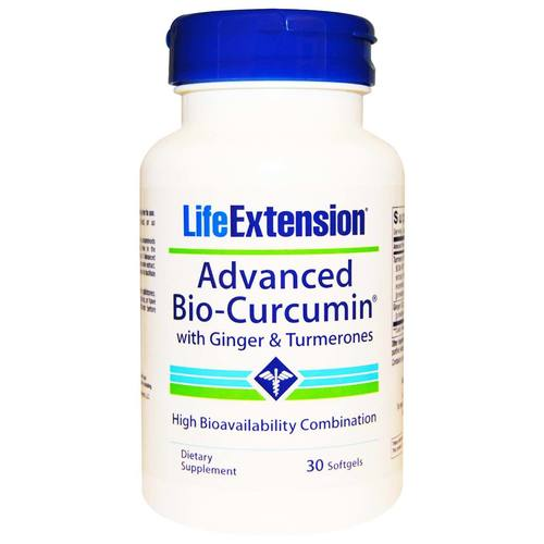 Advanced Bio-Curcumin with Ginger and Turmerones