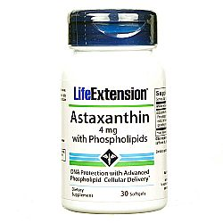 Life Extension Astaxanthin with Phospholipids