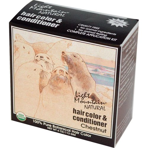 Natural Hair Color and Conditioner