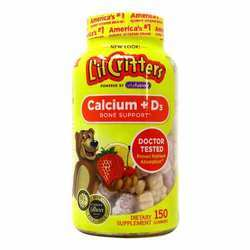 Lil Critters Calcium+D3
