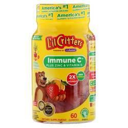 Lil Critters Immune C Plus Zinc and Vitamin D