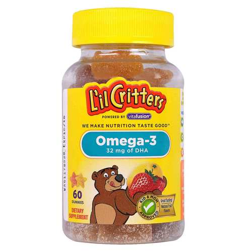 Lil Critters, Omega-3 - 60 Gomas - 312667_front.jpg