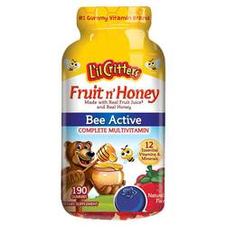 Lil Critters  Fruit'n Honey Complete Multivitamin