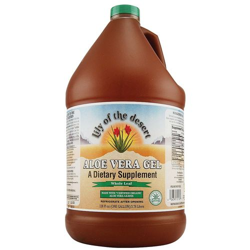 Organic Aloe Vera Whole Leaf Gel
