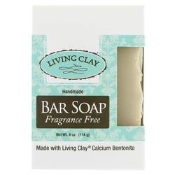 Living Clay  Handmade Bar Soap- Fragrance Free