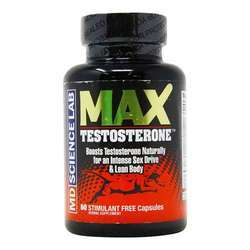 M.D. Science Lab Max Testosterone