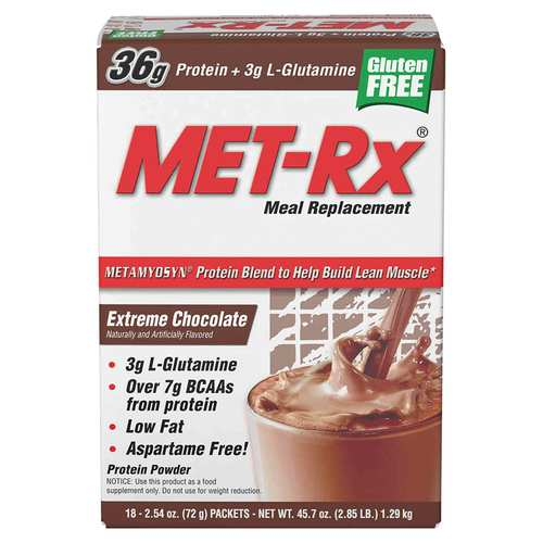 MET-Rx, Engineered Nutrition - Substituto de Refeição - 18 pacotes - 16105_front_ok.jpg