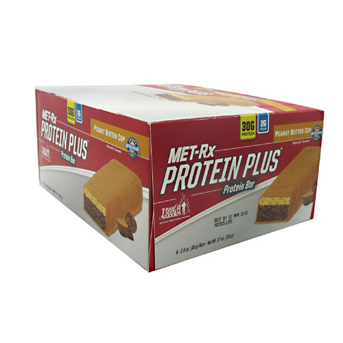 MET-Rx Protein Plus Bars Peanut Butter Cup - 9 bars