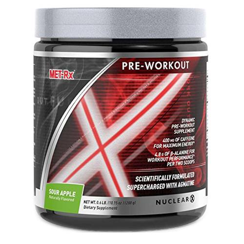 MET-Rx Nuclear X Pre-Workout Sour Apple - 0.6 lb